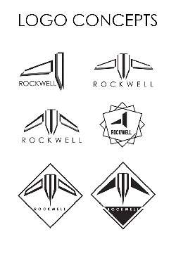 Brand Identity Logo Design Concepts