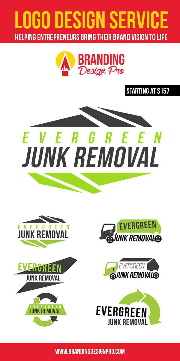 Junk Company Logo Design