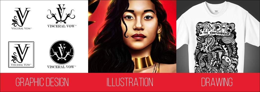 Logo Design Miami FL - Graphic Design Miami - Graphic Design Services - Illustration - Drawing