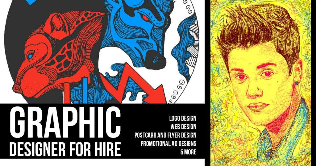 Freelance Graphic Designer For Hire