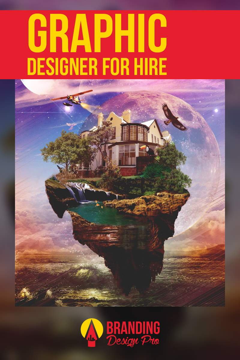 Graphic Designer For Hire
