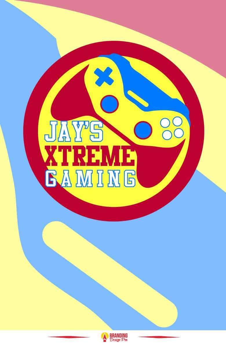 Graphic Design Case Study - Boy Gamer Logo Design