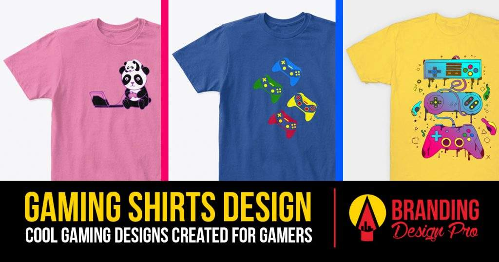 Gamer Shirts Design