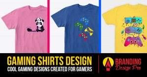 Gamer Shirts Design