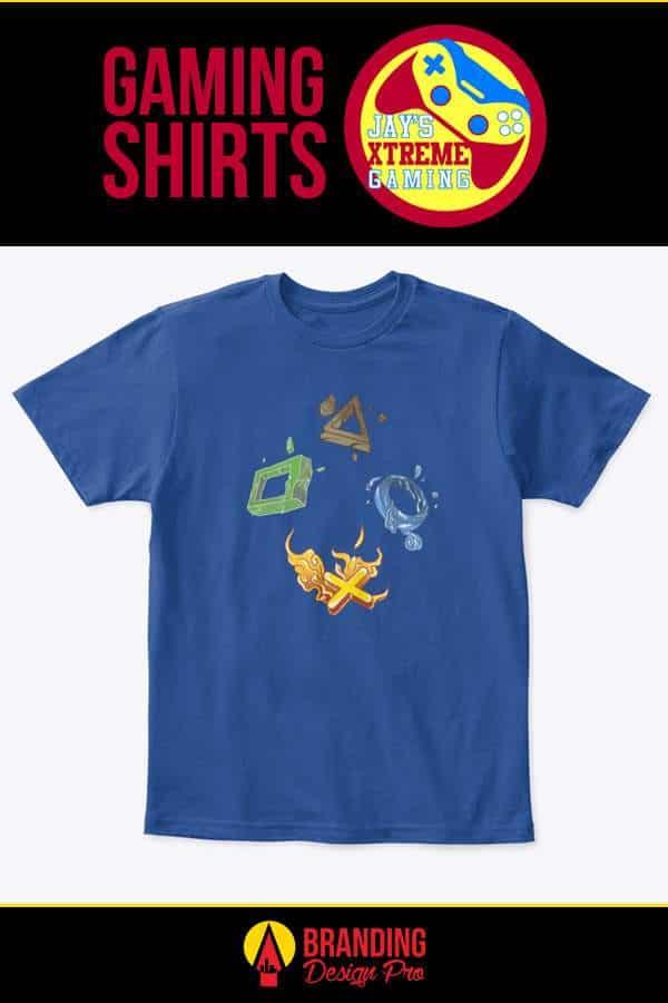 Gaming Shirt - Gaming Elements