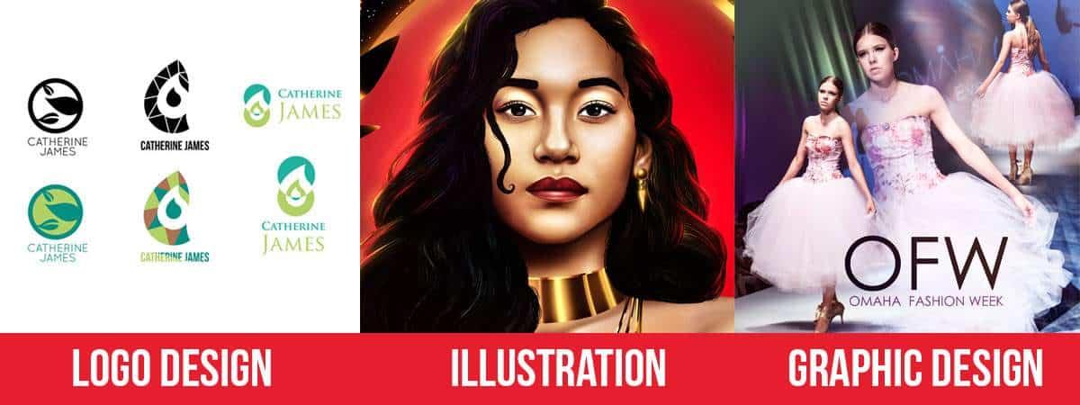 Logo Design - Illustration - Graphic Design Branding