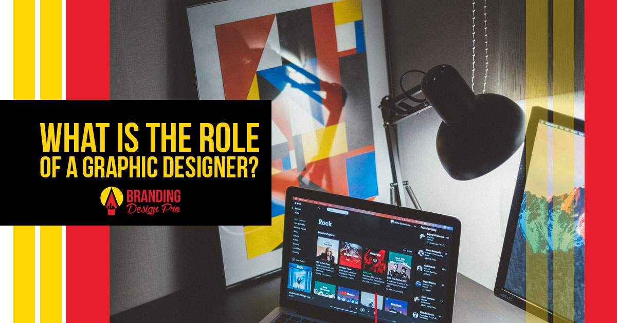 What is the role of a graphic designer