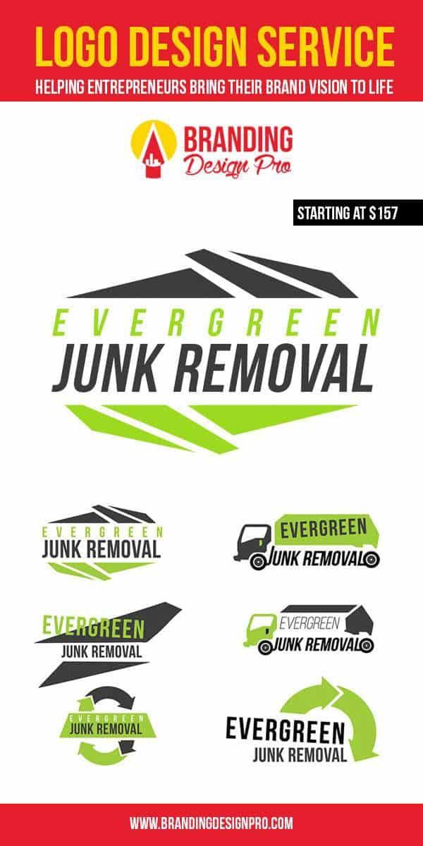 Junk Removal Company Logo Design